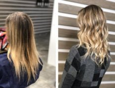 Natural balayage e baby light balayage fatte a manolibera 1
