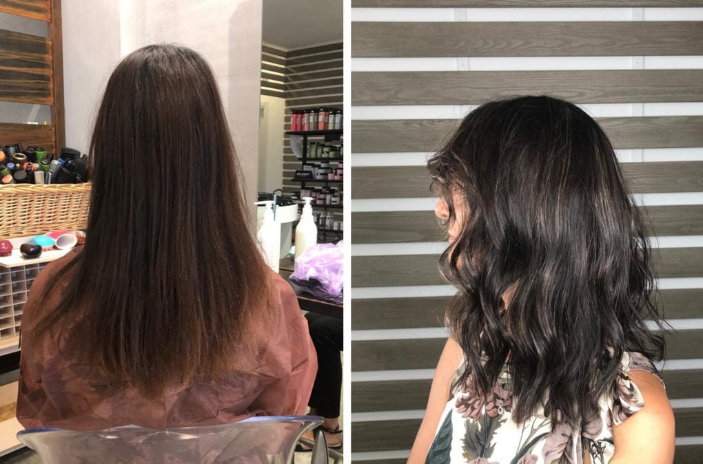 Applicare delle finissime Baby Light Balayage 1