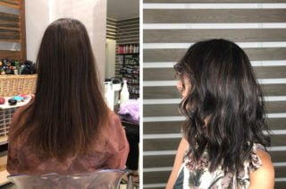 Applicare delle finissime Baby Light Balayage 4